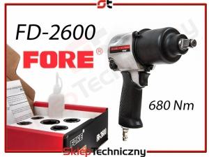 Udarowy Klucz Pneumatyczny Do Kół FORE 5 nasadek FD-2600