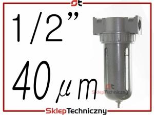 Filtr powietrza, Separator, Odolejacz Odwadniacz AF804 40 mikronów